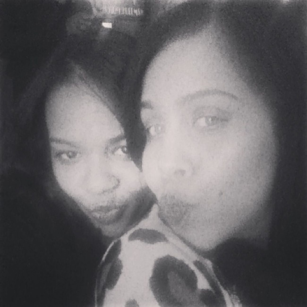 Black and white and we still look good :) Bff SillyGirls JustUs . Missingtania