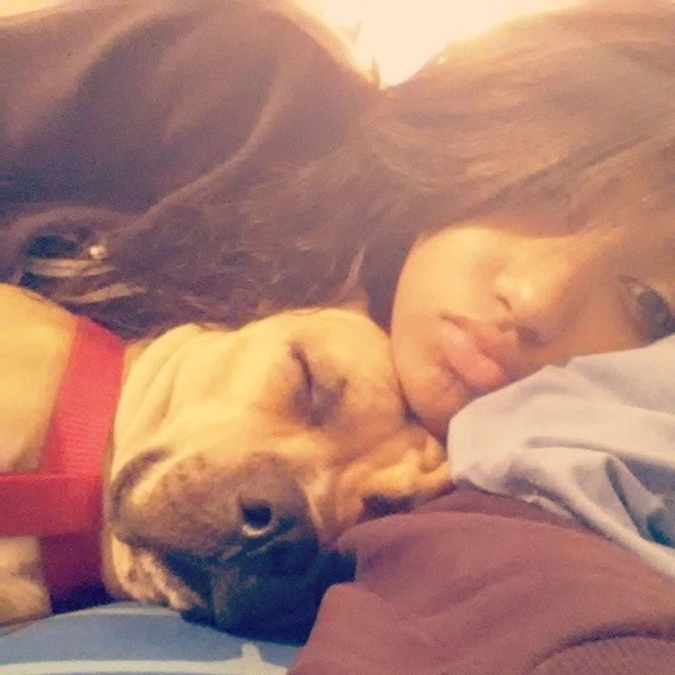 Is it crazy that say your name more times a day then I say my own? Is it crazy when your gone for a minute I'm missing you? Yeah I feel alone Missinghim ThinkILoveHim ? Yah Nah NoWay Maybe Beautiful CuddleBuddy Doggie Bestfriend LayingDown GoodNight ILoveYou