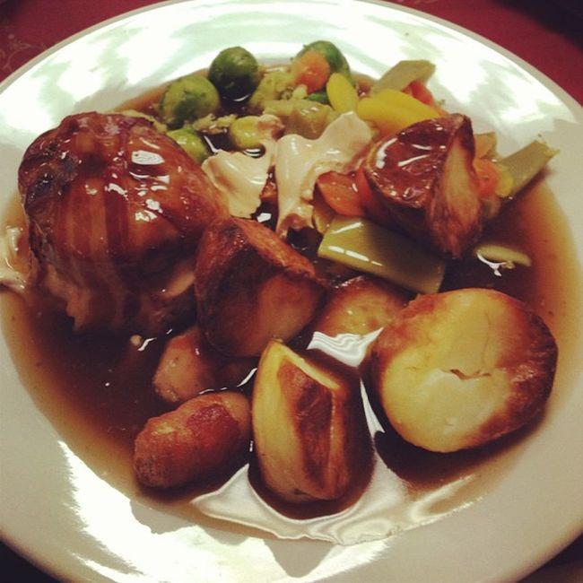Xmas dinner at work... #food #christmas #improvedimage Food Christmas Improvedimage