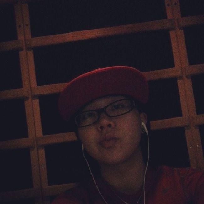 Hoping the sauna helps! Fkbeingsick AnytimeFitness Nike Red tonight (: