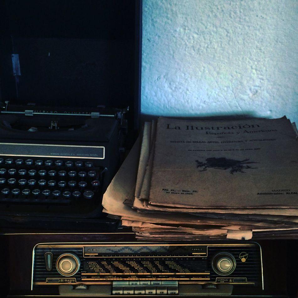 Writing Machine  Oldnewspaper Vintage