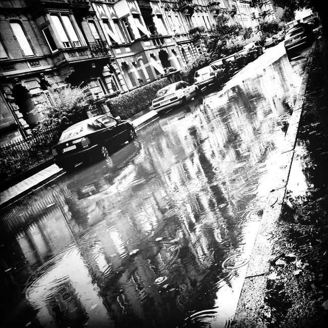 it's NOT raining men :/ Blackandwhite Bnw Reflection