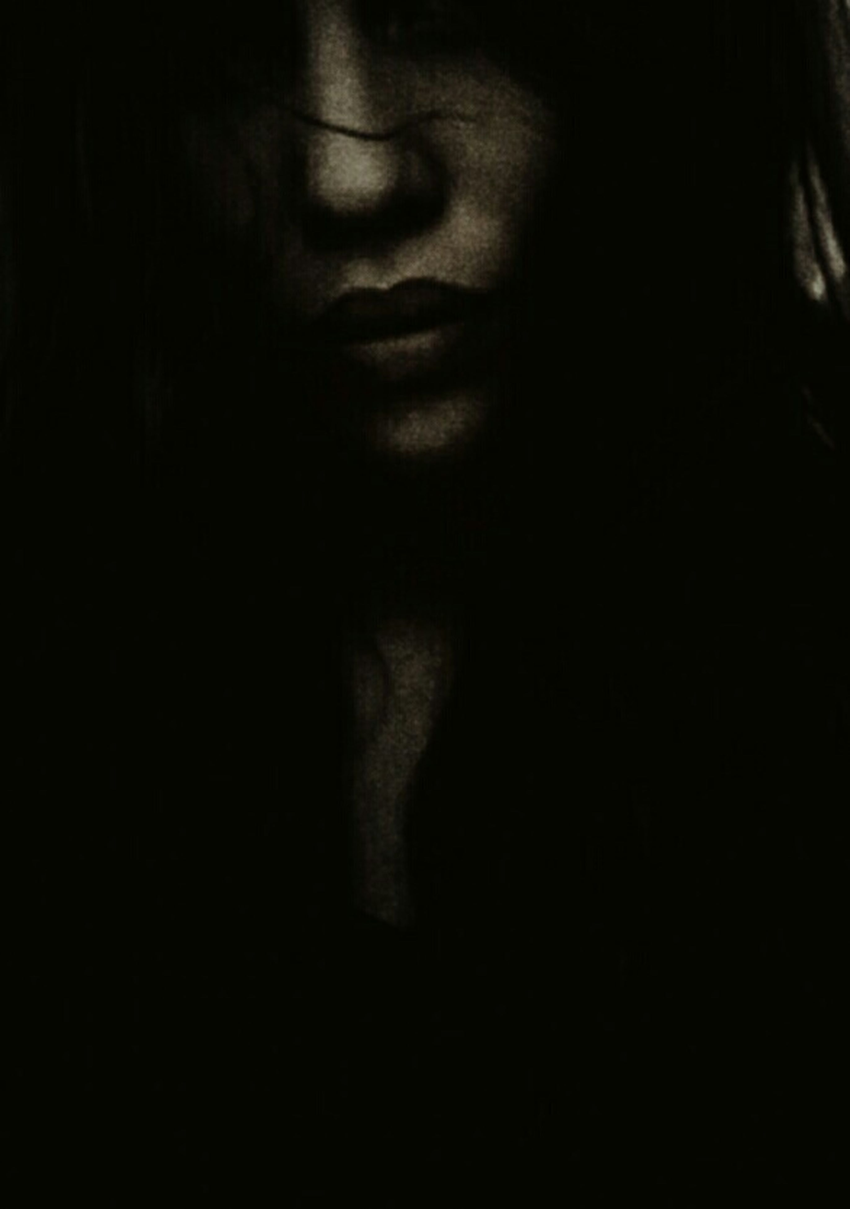 Sony Xperia Photography. Portrait Simplicity Mysterious Self Portrait Light And Shadow Dark