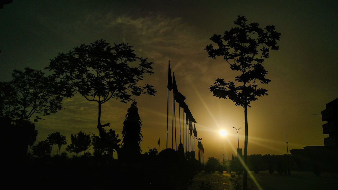 Nature Sunrise Skyline Outdoors Beauty In Nature Tree Flags In The Wind  Oneplusphotograpgy Oneplus2 Beauty In Nature EyeEm Best Shots EyeEmNewHere