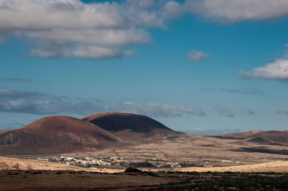 Vulcano Subtropical Enjoying The View Landscape Landscape_Collection Fuerteventura Canary Islands Traveling Travel Photography La Oliva Creative Light And Shadow Light And Shadow Clouds Shadows & Lights The KIOMI Collection