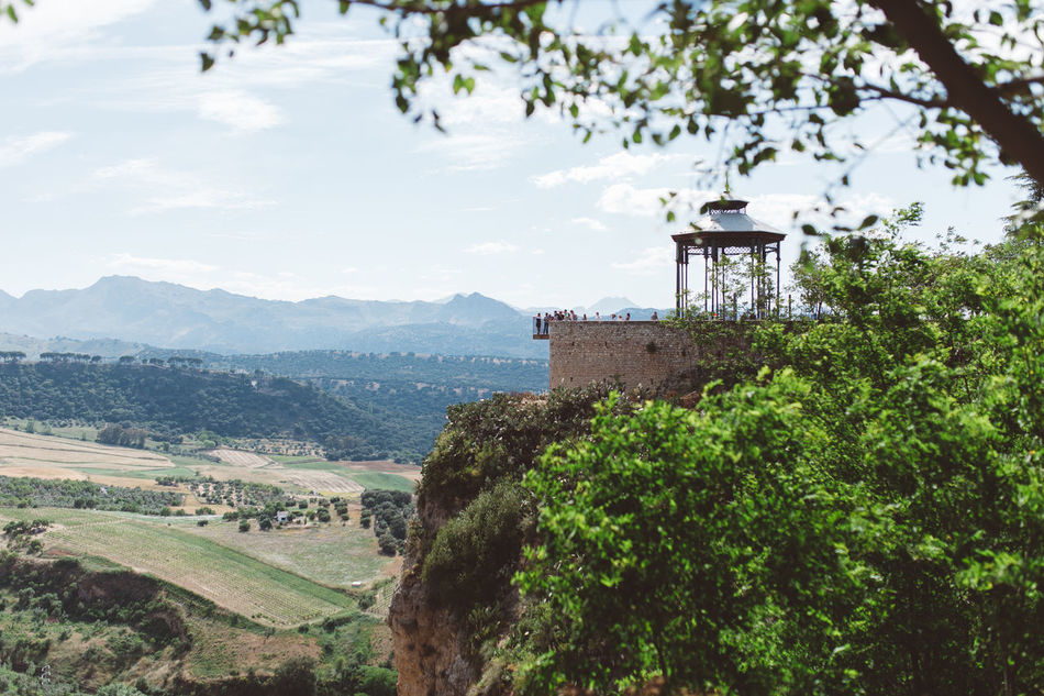 Ronda, Andalucia, Spain Ancient Ancient Architecture Andalucía Andalusia Architecture Belevedere Built Structure Green Kodak Mountain Outdoors Ronda SPAIN Terrace Travel Destinations Travel Photography Traveling Travelphotography Viewpoint VSCO