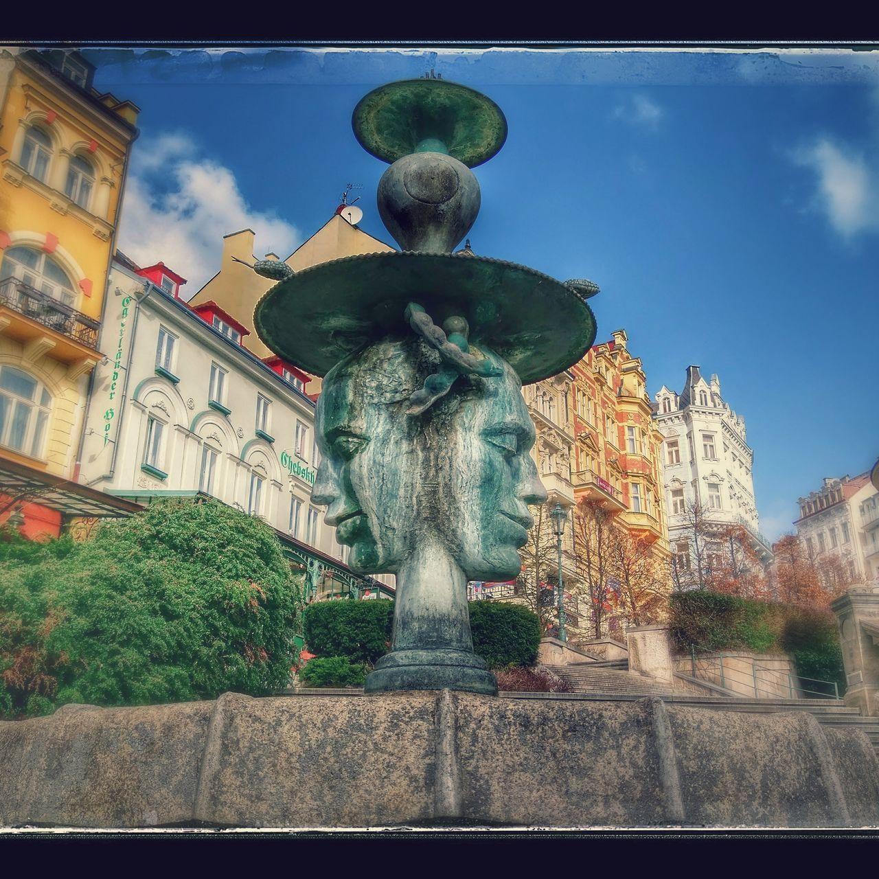 Landscape No People Karlovy Vary Czech Republic Czech Architechture Spa Status Spa Town Western Bohemia