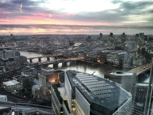 Thearchitect-2015EyeEmAwards London View From The Shard Bridge Cityscapes Sky And Clouds Sky_collection Building Riverthames TheShard London Riverthames