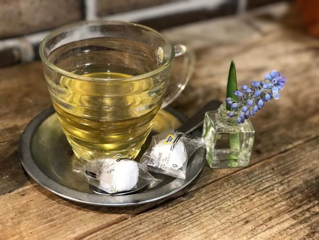 It's the Girls' Day today, so have some green tea with a little flower 🌺 Herb Herb Tea Flowers Cafe Sugar Tea Green Green Tea ❤️ Flower Head Freshness Food Close-up Food And Drink Table Flower Collection Girls' Time Girls' Day Japan