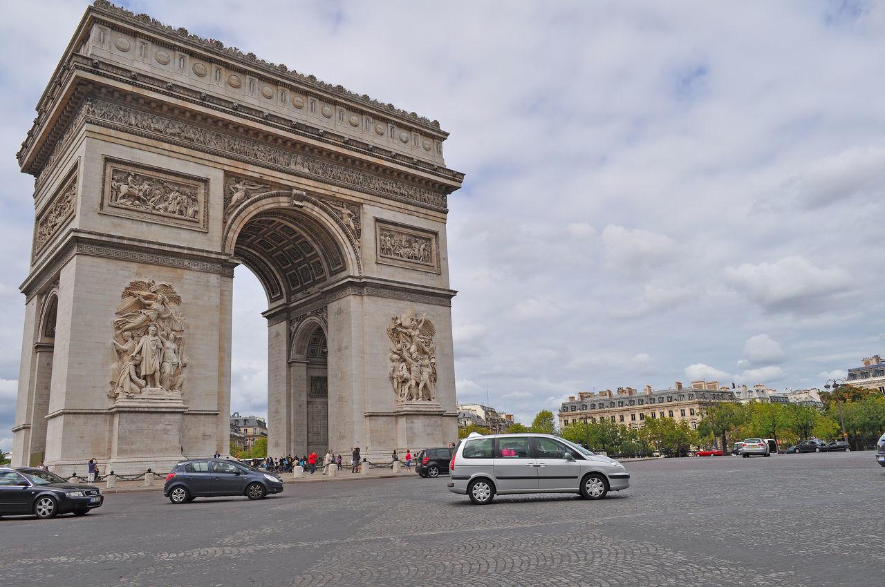 Arc De Triomphe Architecture Architettura Arco Di Trionfo Charles De Gaulle Famous Place France Francia Monument Monumento Parigi Paris Piazza Rotatoria