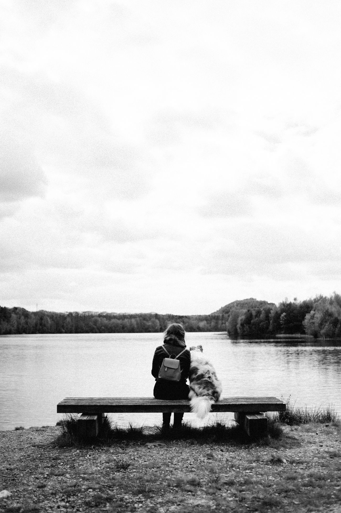 The Calm Photography Movement Water Lake Sitting Full Length Tranquility Nature Cloud - Sky One Person Sky Tranquil Scene Relaxation Leisure Activity Day Outdoors Real People Beauty In Nature Men Young Adult People TCPM The Secret Spaces Portra 160 Eye4photography  Blackandwhite TCPM EyeEmNewHere The Great Outdoors - 2017 EyeEm Awards The Portraitist - 2017 EyeEm Awards Place Of Heart