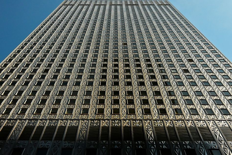 Mobil Building 42nd Street Manhattan NYC by Abramovitz & Harrison in 1955 Urban Geometry Architecture Architecturelovers Architecture_collection Getting Creative The Architect - 2016 EyeEm Awards