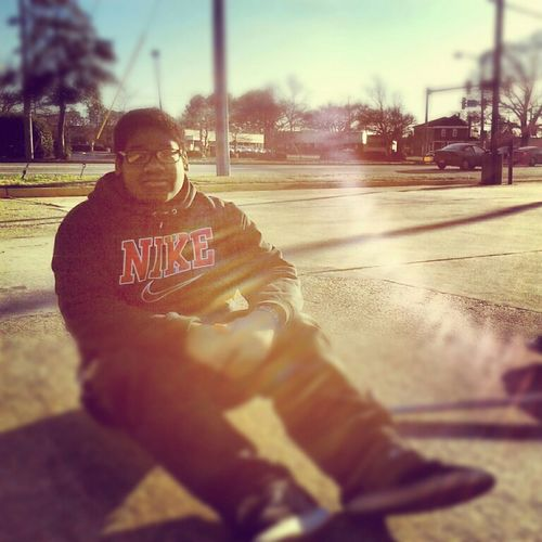 Chilln out here mobbin