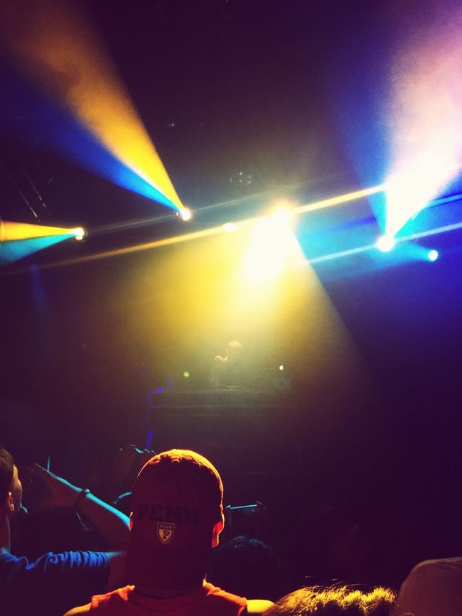 Saw Sam Gellaitry at Treesdallas Music Live Music Colorful Lights