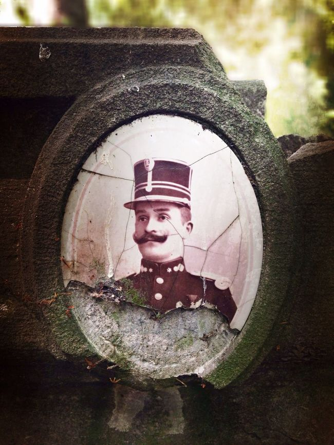 I moustache you a question... Ghent Belgium Graveyard Beauty Graveyard Collection Moustache Gravestone Grave Military