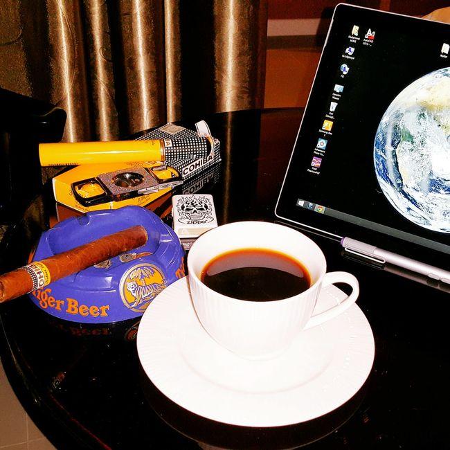 Thailand Phuket Thailand Cofee Cohiba Cigar Zippo Tablet SurfacePro3 Photography EyeEm Gallery