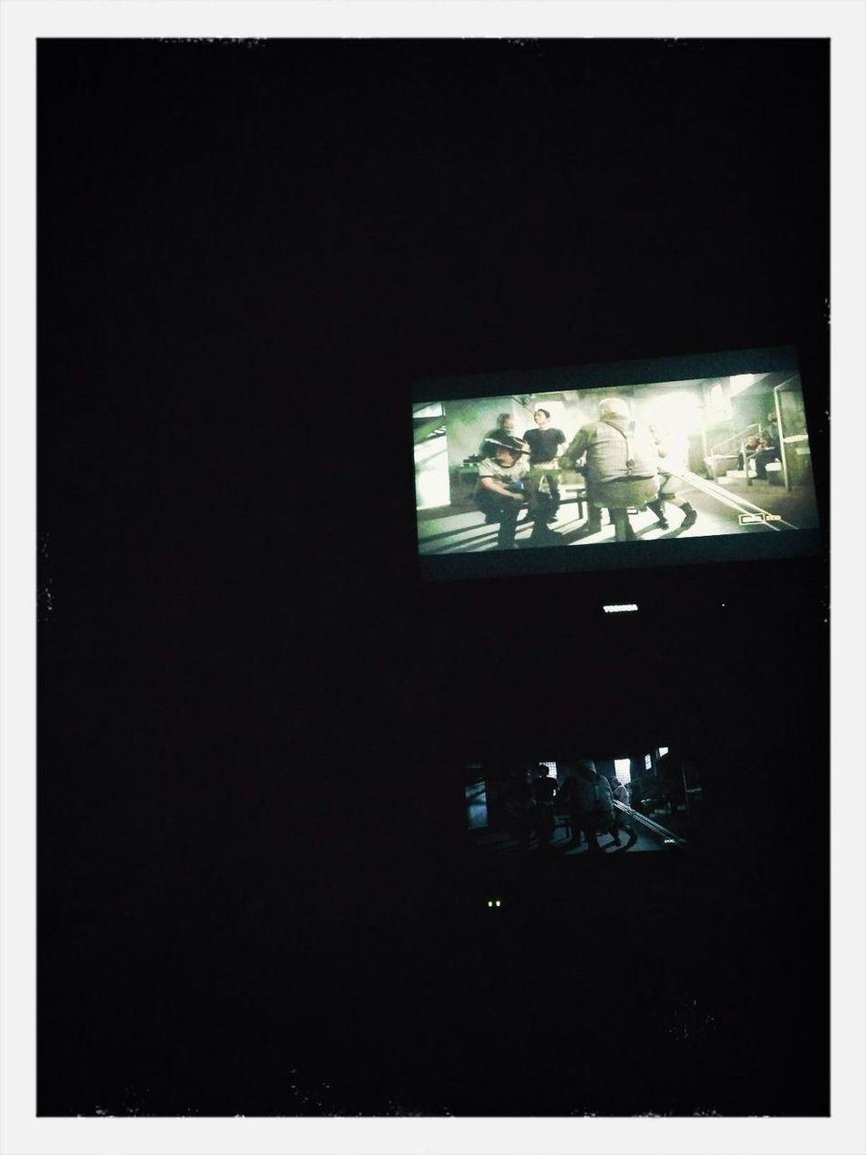 Zombies lulling me to sleep. Walking Dead