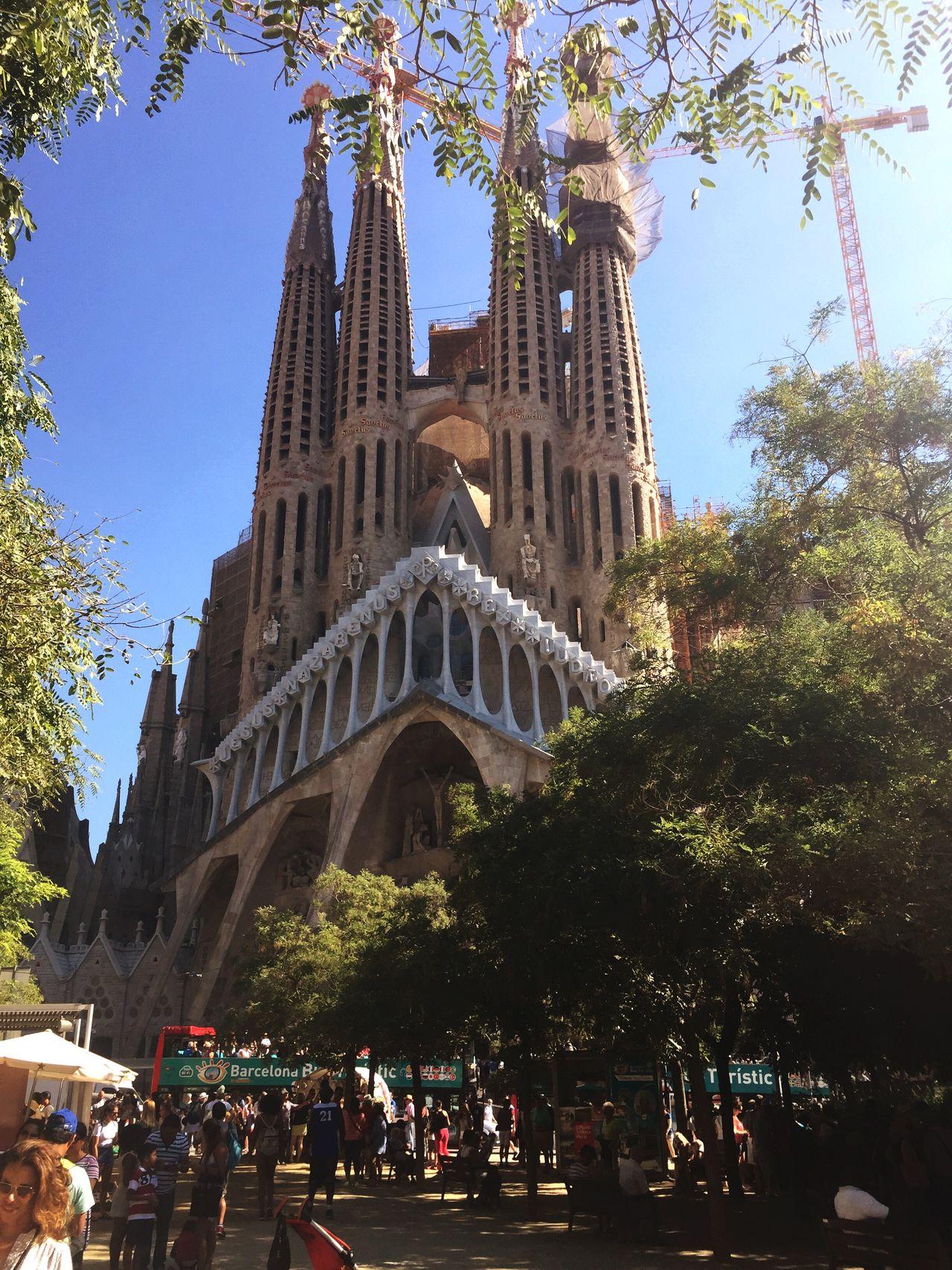 Gaudi Sagradafamilia Barcelona SPAIN Cathedral Gaudi My View Sagrada Familia