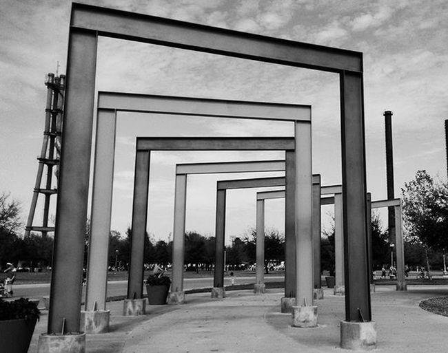 Acero Parquefundidora Monterrey Mty Travel Steal Structure Estructura Mirror Detalles Shadow Sombra Viaje Escultura Geometria Geometry Profundidad Arcos Marco Photo