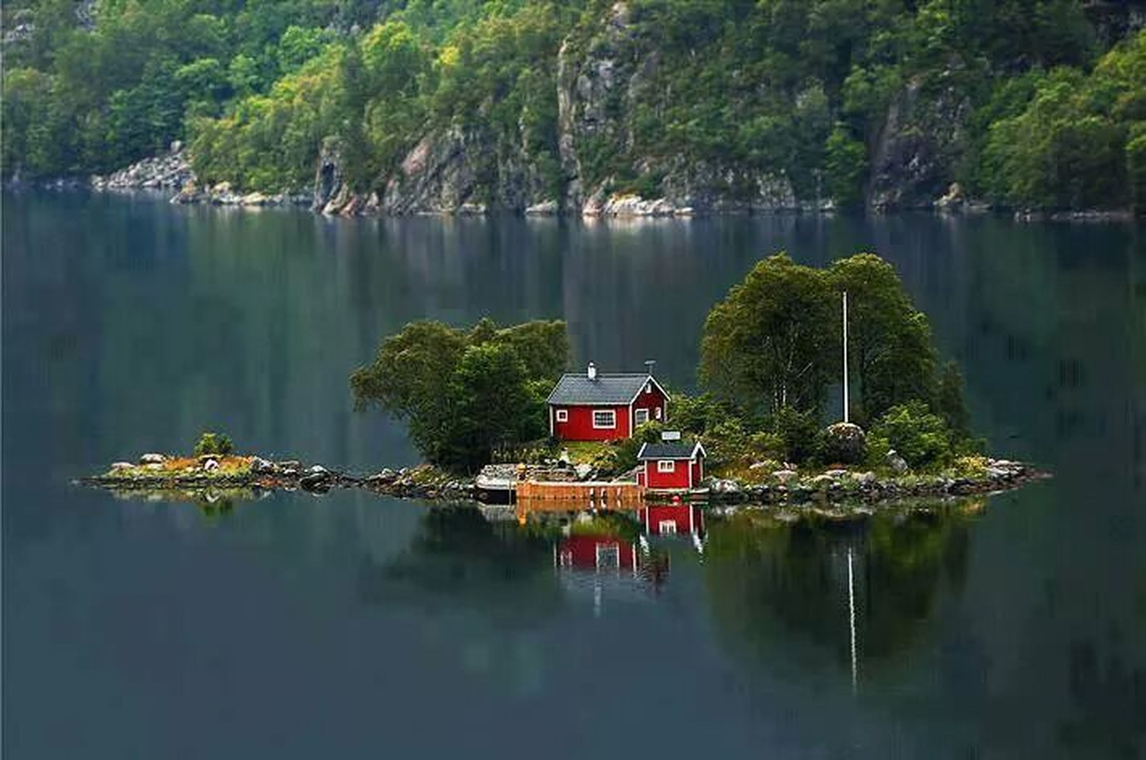 water, tree, reflection, transportation, nautical vessel, lake, mode of transport, waterfront, boat, tranquility, moored, tranquil scene, nature, scenics, standing water, beauty in nature, sky, day, forest, river