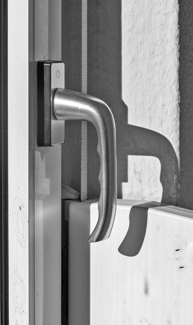 door, metal, close-up, safety, no people, day, built structure, architecture, outdoors