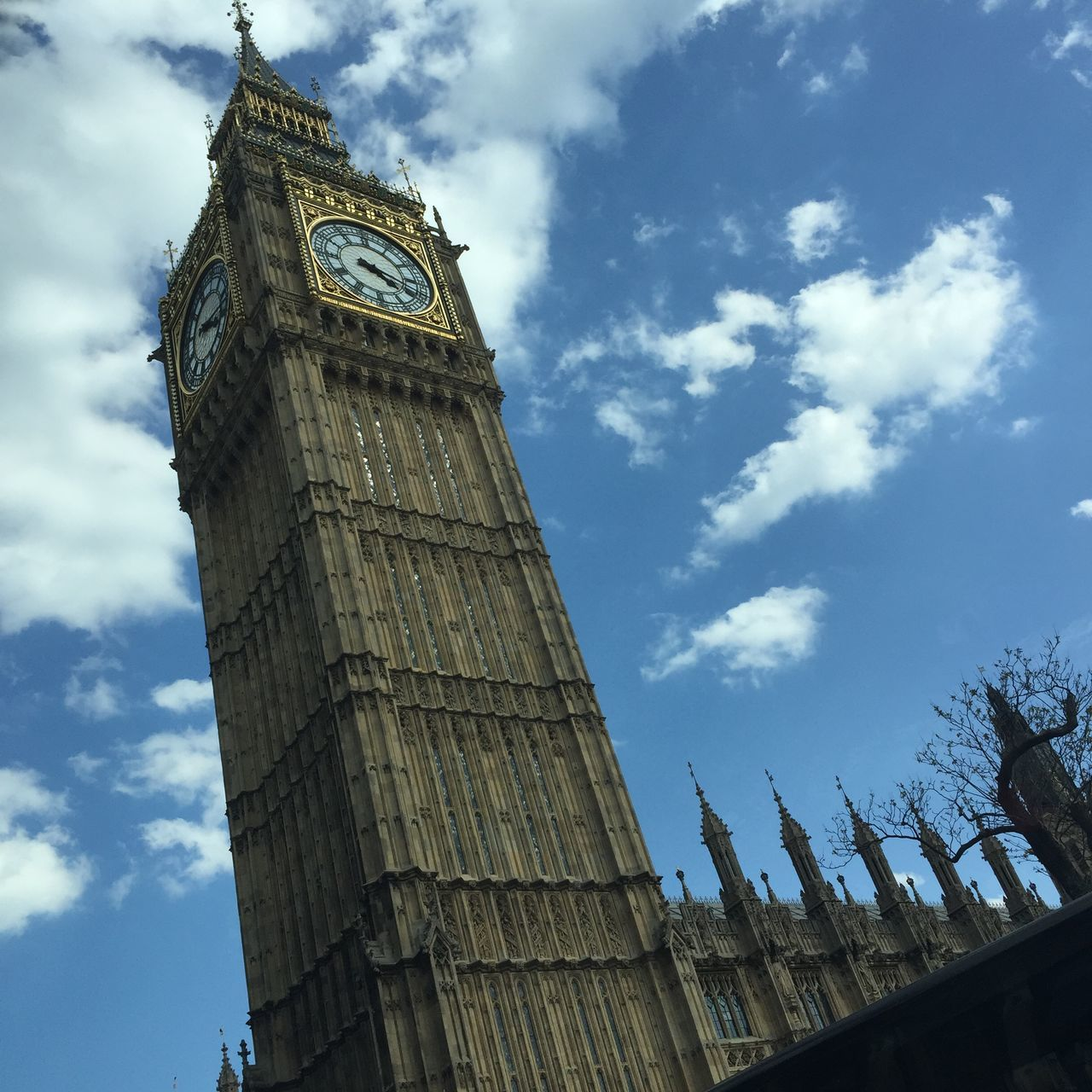 Big Ben Capital Cities  England London Monument Sky Tourism Traveling Vacation