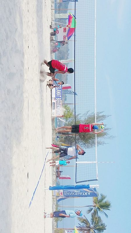 INDONESIA Picnic Paradise Beach Resort Beach Volleyball Sports Banquet  Amasing