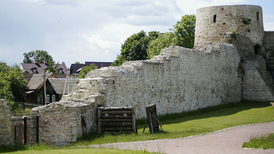 Pskov Izborsk Tower Wall Architecture History Old Ruin Travel Destinations No People Built Structure