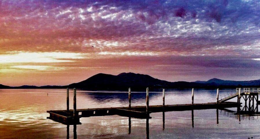 Clear Lake Sunrise Sunrise Lake Clouds IPSGolden Lake County, Ca Mt. Konocti Clear Lake  Silhouette California IPSAqua