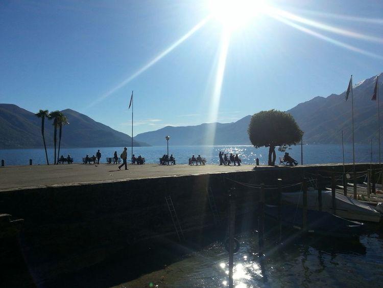 Enjoying The Sun Walking Around People Watching Eye4photography
