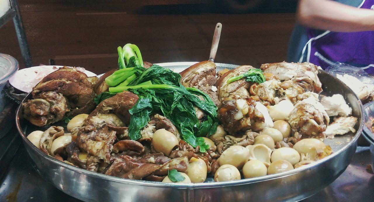 Stewed Pork Leg Food Thai Foods Street Food