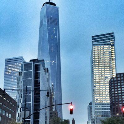 Nycprimeshot Nyclovesnyc Icapture_nyc Nycskyline  Grammaster Manhattan WTC WorldTradeCenter Manhattan