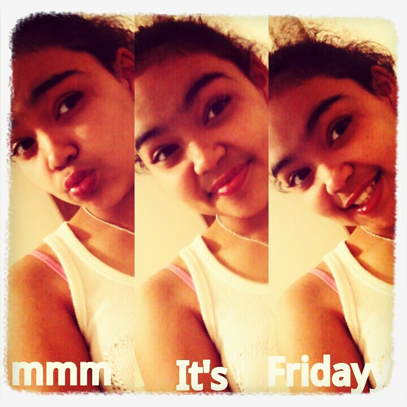 Mmm It's Fridayy..