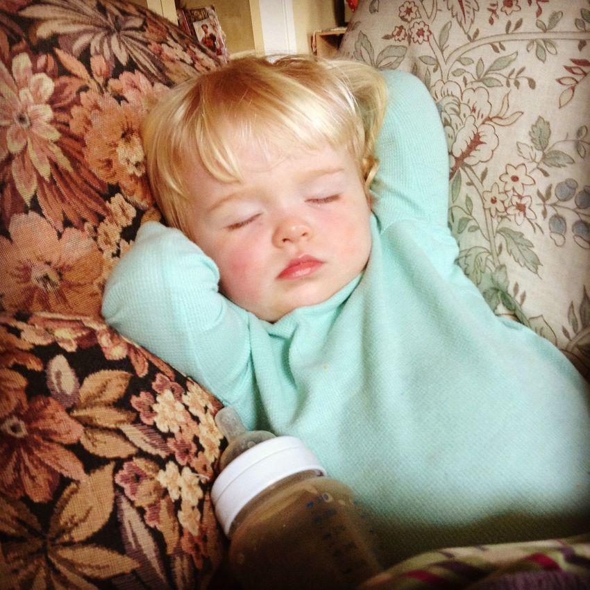 Sleeping Girl Sleeping Beauty Sleeping Baby 1.5 Yrs Blonde Baby Blonde Girl 1.5 Yrs Beautiful Sleeping Child Blonde 1.5 Yrs Dreamy Picture Sleeping Baby Indoors  Pillows Portrait Blond Hair Home in Santa Rosa California