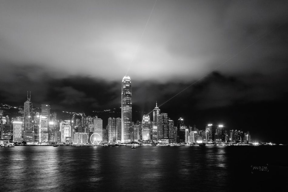 HongKong Hong Kong Long Exposure Hong Kong Harbour Hong Kong City Hong Kong Architecture Hong Kong Victoria Harbour Hong Kong Island Hong Kong Skyline Skyscraper Skyline Lights City Cityscapes Longexposure Black And White Blackandwhite Architecture