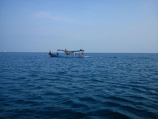 Tidung island, thousand island Sailing Boat Snorkling, Pulau Tidung Wonderful Indonesia No Edit/no Filter