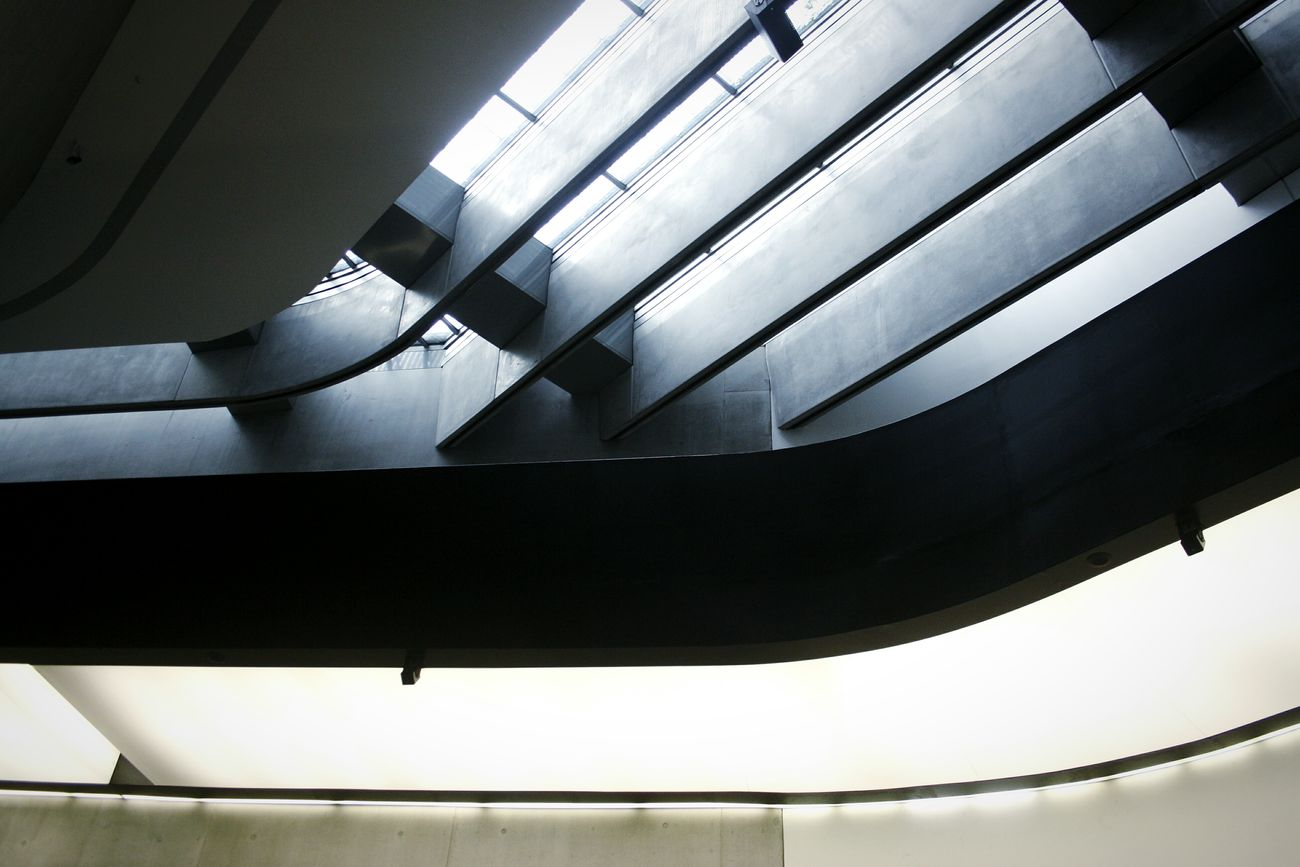 Architecture Built Structure Low Angle View No People Indoors  Illuminated Modern Day City Light Rome Art Futuristic Modern MAXXI Roma MAXXI MAXXI Museum Rome Italy Indoors  Arts Culture And Entertainment Dark Corridor Indoors  Architecture Low Angle View Window