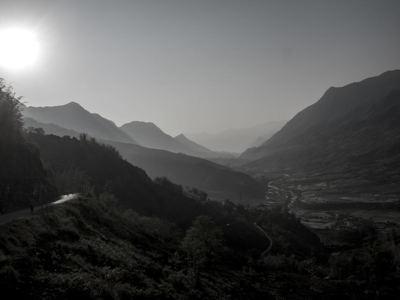 Beautiful landscapes of Sapa, Lao Cai, Vietnam 2015 Beauty In Nature Dreamlike Fog Idyllic Landscape Landscape_Collection Lens Flare Majestic Mist Mountain Mountain Peak Mountain Range Nature Outdoors Remote Sapa Sapa, Vietnam Scenics Sky Solitude Sun Sunbeam Tranquil Scene Tranquility Valley