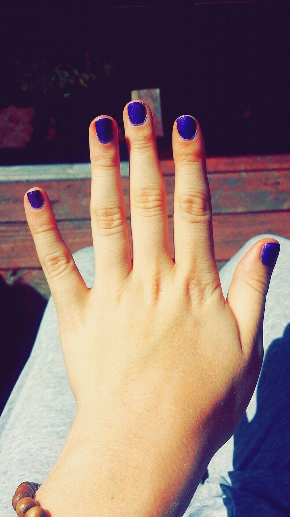 Purple Nails <3 Purplepolish Nailsdid