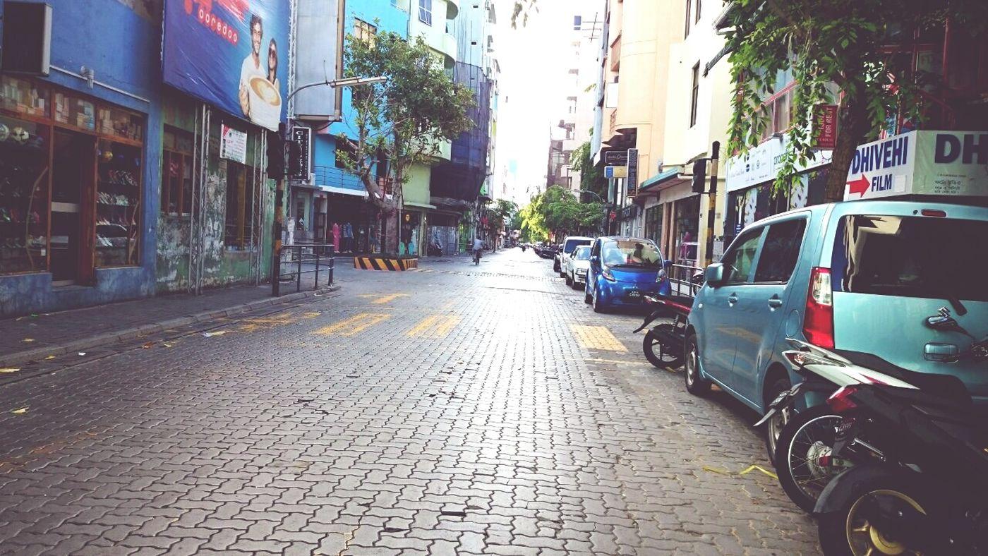 Male'city Calm roads
