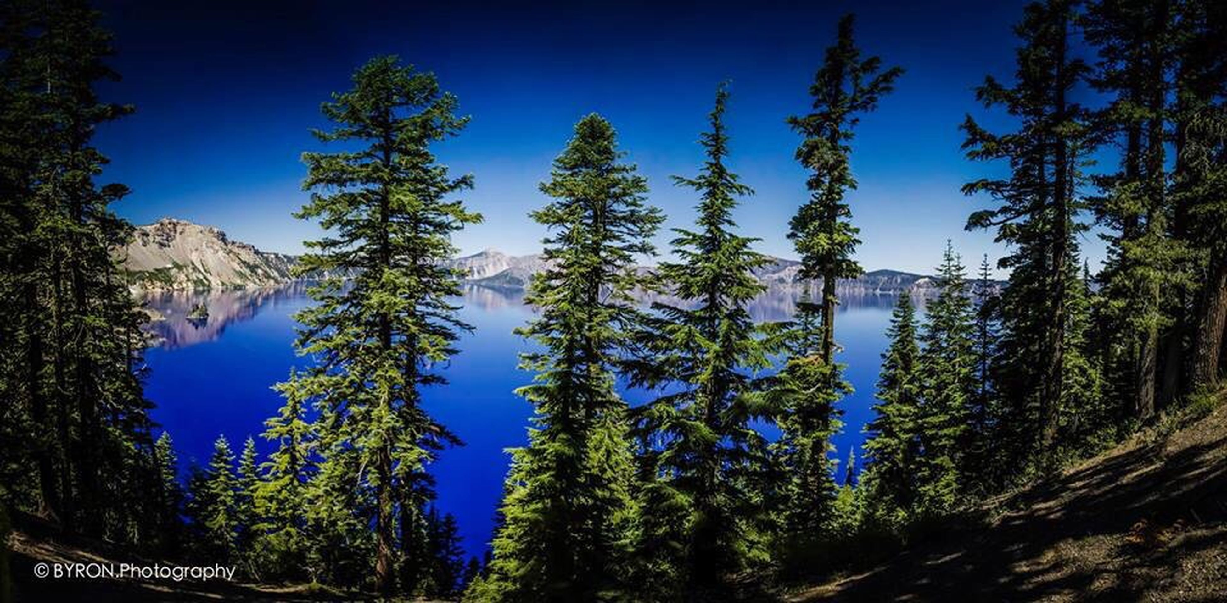 Panorama of Crater Lake on our recent trip to the USA. First Eyeem Photo