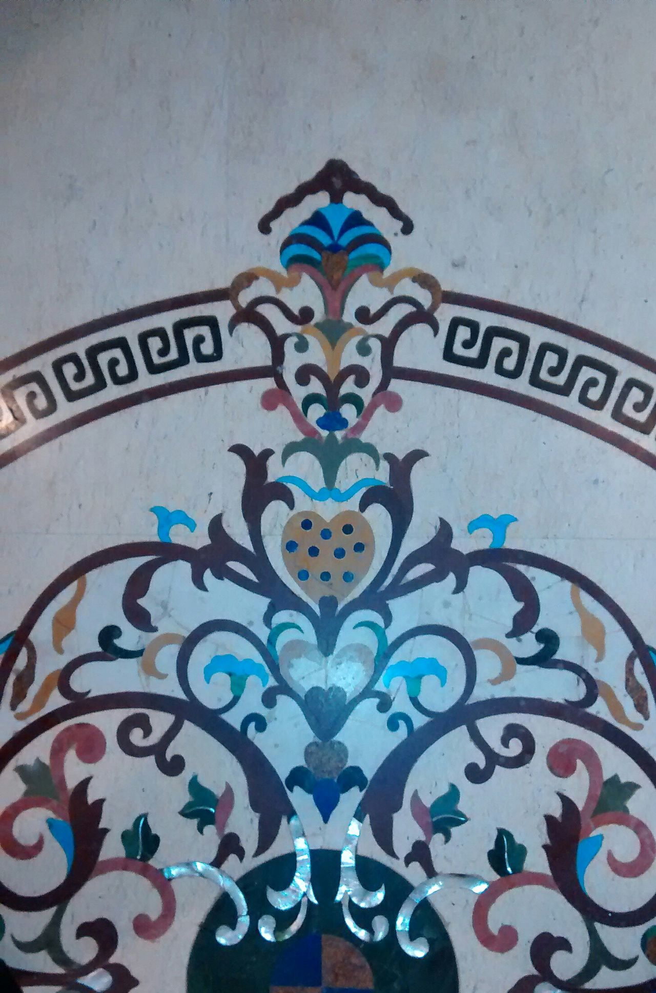 Nakkashi Design Mogul Carving Floor Floor Patterns