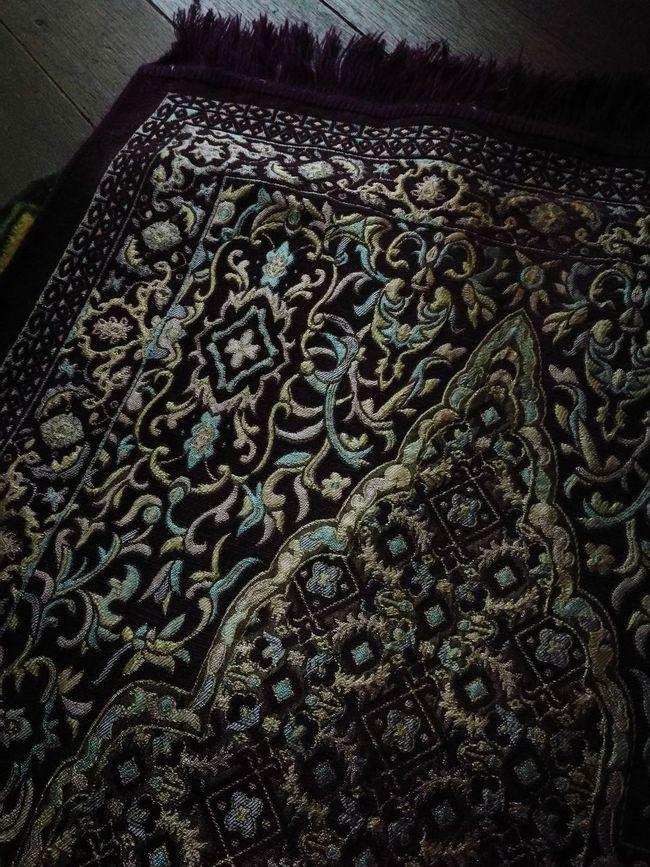 Pattern No People Sajadah DOA Close-up