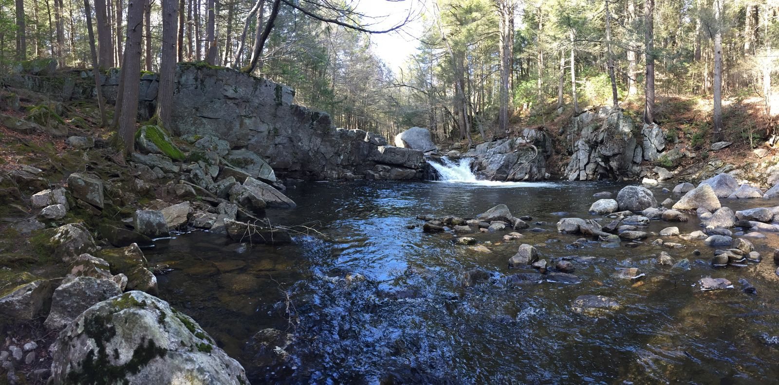 To live. To love. Forest Waterfall River Water_collection Blue And Green Beautiful Beautiful Nature Beautiful Day March 2016 Hello World New England  Massachusetts Taking Photos Enjoying Life No Filter In The Forest Share Your Adventure Adventure