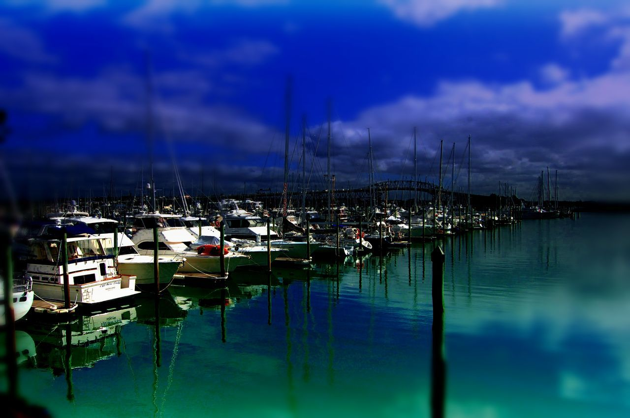 Architecture Cloud - Sky Day Harbor Marina Mast Mode Of Transport Moored Nature Nautical Vessel No People Outdoors Reflection Sailboat Sea Sky Tranquility Transportation Water Yacht Yachting