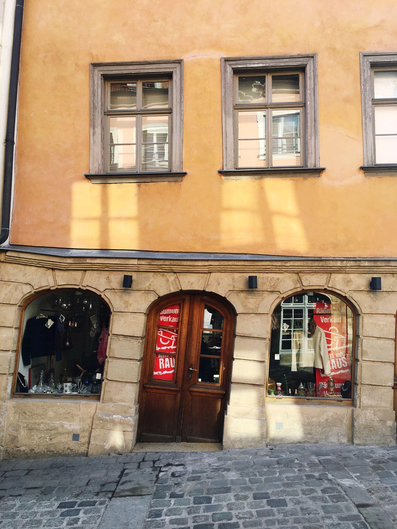 Bamberg  Architecture Slanted Shop