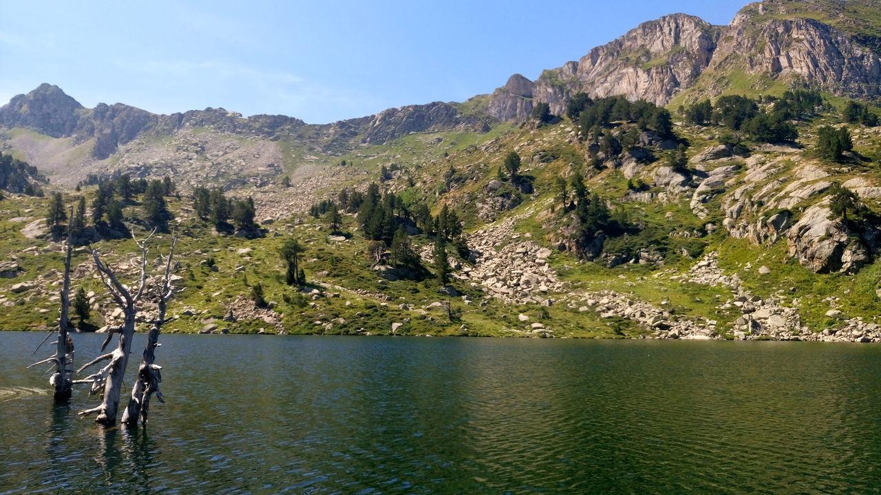 Enjoying Life Colour Of Life Val D'Aran Mountain_collection Natural Beauty estany de Beciver, Val D'Aran, catalonia