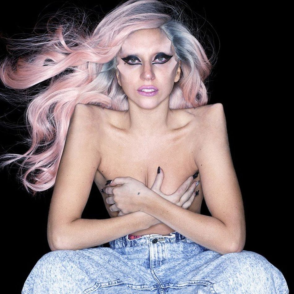 One of two outtakes leaked from Bornthisway Photoshoot She looks so tired :/ Gaga Btw Queen Pride @ladygaga Littlemonster Littlemonsters