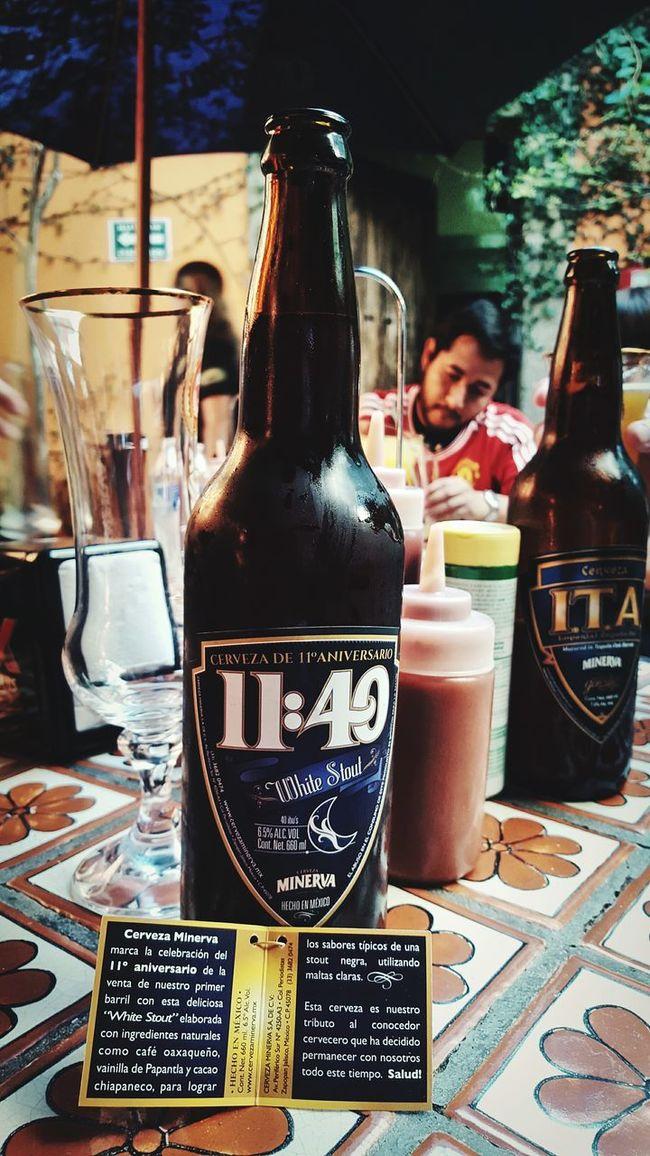 Una rica White Stout de cervecería La Minerva Photo By Agustín Orozco Díaz - 2015