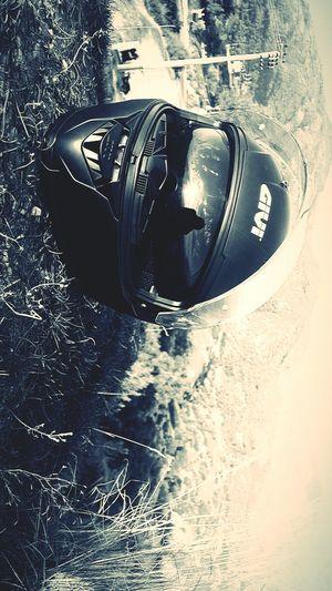 Moto Givi Motocycle Helmet Road Day Nature